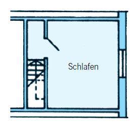 Dachgeschoss, Fewo 1